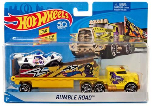 Hot Wheels 50th Anniversary Rumble Road Die-Cast Car