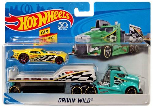 Hot Wheels 50th Anniversary Drivin' Wild Die-Cast Car