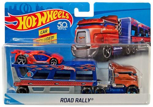 Hot Wheels 50th Anniversary Road Rally Die-Cast Car