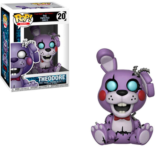 Funko Five Nights at Freddy's The Twisted Games POP! Games Theodore Vinyl Figure #20