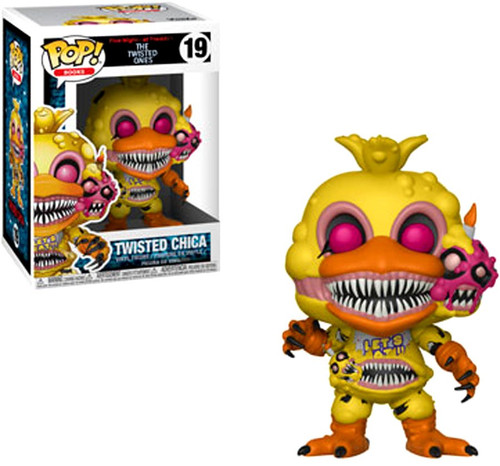 Funko Five Nights at Freddy's The Twisted Games POP! Games Twisted Chica Vinyl Figure #19