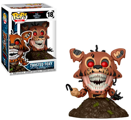 Funko Five Nights at Freddy's The Twisted Games POP! Games Twisted Foxy Vinyl Figure #18