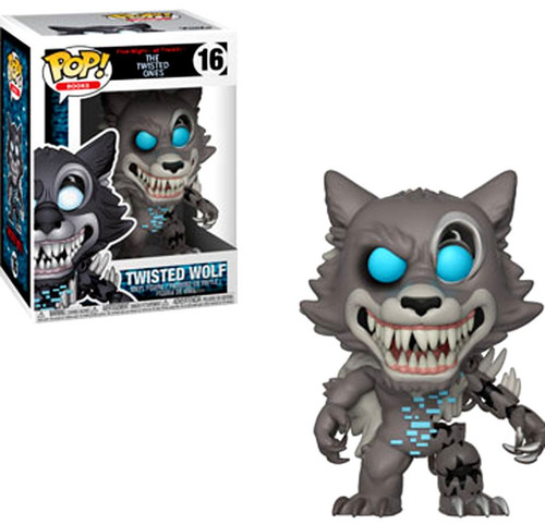 Funko Five Nights at Freddy's The Twisted Games POP! Games Twisted Wolf Vinyl Figure #16