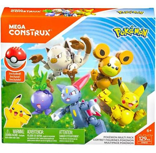 Pokemon Multi Pack Multi Figure 5-Pack Set