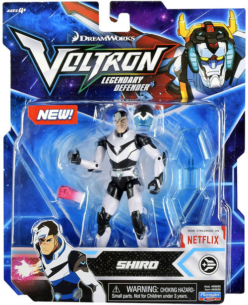 Voltron Legendary Defender Shiro Basic Action Figure [Black Lion Pilot]