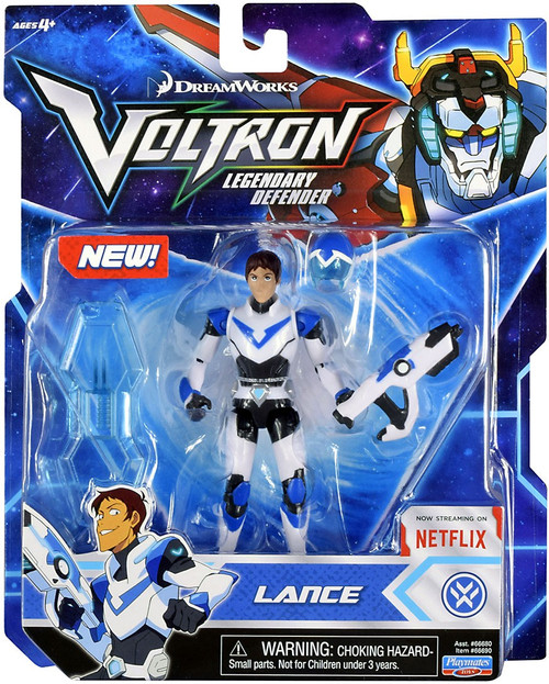Voltron Legendary Defender Lance Basic Action Figure [Blue Lion Pilot]