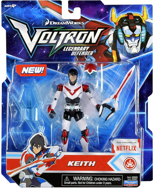 Voltron Legendary Defender Keith Basic Action Figure [Red Lion Pilot]