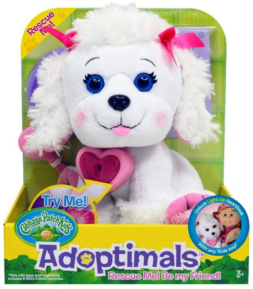 Cabbage Patch Kids Adoptimals Poodle 9-Inch Plush