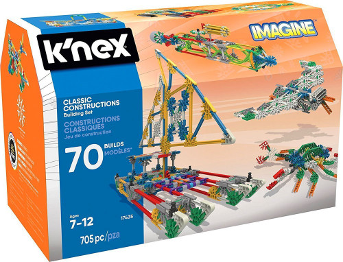 K'Nex Classic Construcitons Imagine 70 Builds Set #17435