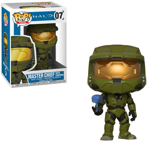 Funko POP! Halo Master Chief with Cortana Vinyl Figure #07