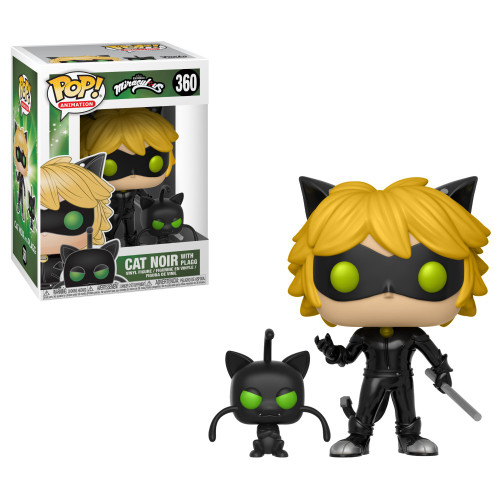 Funko Miraculous: Tales of Ladybug & Cat Noir POP! TV Cat Noir with Plagg Buddy Vinyl Figure #360