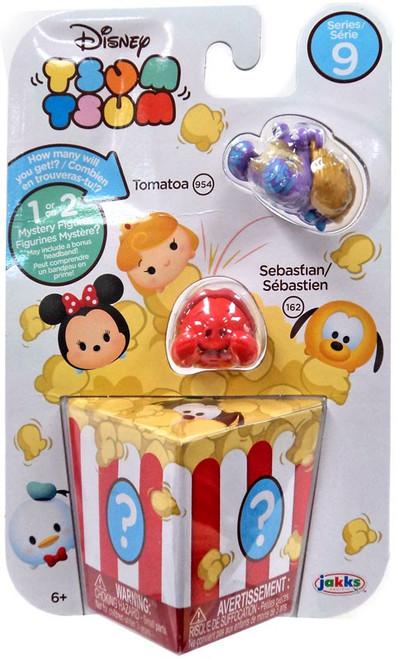 Disney Tsum Tsum Series 9 Tomatoa & Sebastian 1-Inch Minifigure 3-Pack