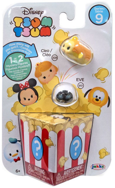 Disney Tsum Tsum Series 9 Cleo & EVE 1-Inch Minifigure 3-Pack #308 & 951