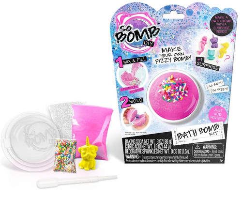 So Bomb DIY Bath Bomb Single Pack [Random Color]