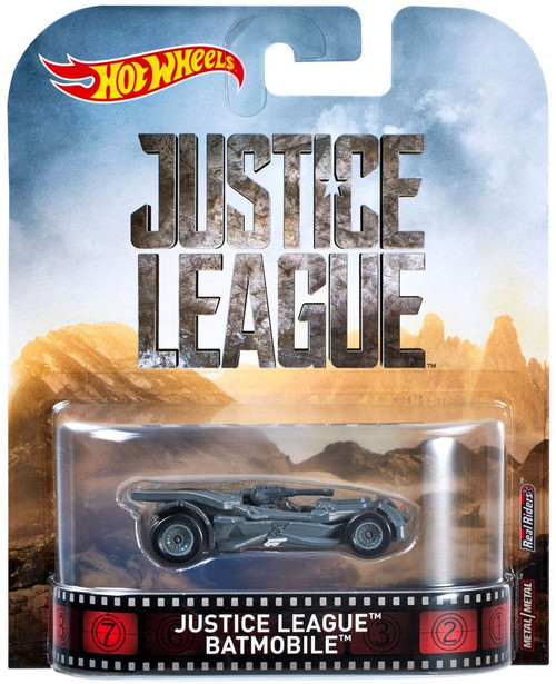 Hot Wheels Justice League Batman Batmobile Diecast Car #1/5