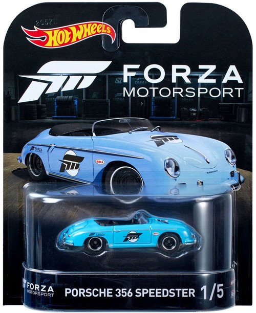 Hot Wheels Forza Motorsport Porsche 356 Speedster Diecast Car #1/5