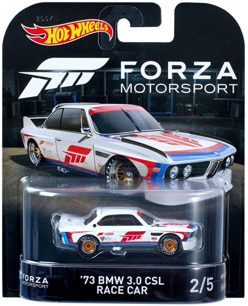 Hot Wheels Forza Motorsport '73 BMW 3.0 CSL Race Car Diecast Car #2/5