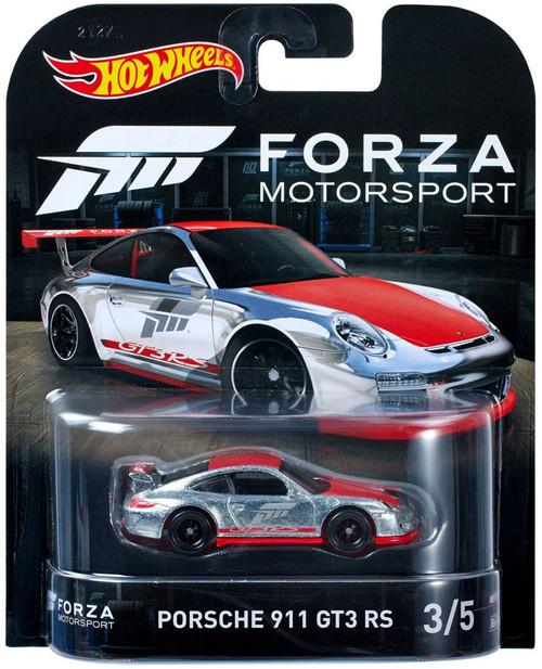 Hot Wheels Forza Motorsport Porsche 911 GT3 RS Diecast Car #3/5