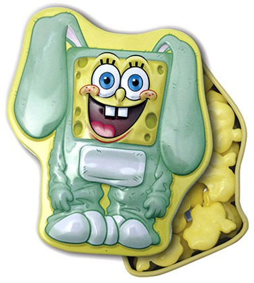 Spongebob Squarepants Big Bunny Candy Tin