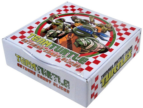 Teenage Mutant Ninja Turtles Team Turtle Extreme Candy Slices Candy Tin [Sour Orange]
