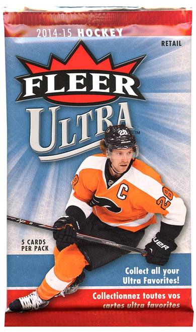 NHL 2014-15 Fleer Ultra Hockey Trading Card Pack [5 Cards!]