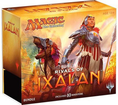 MtG Trading Card Game Rivals of Ixalan Bundle [Includes 10 Booster Packs!]