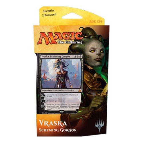 MtG Trading Card Game Rivals of Ixalan Vraska Scheming Gorgon Planeswalker Deck