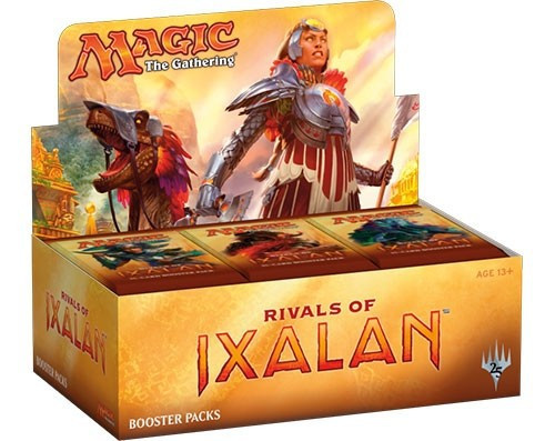 MtG Trading Card Game Rivals of Ixalan Booster Box [36 Packs Japanese]