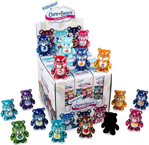 Vinyl Mini Figure Care Bears 3-Inch Mystery Box [24 Packs]