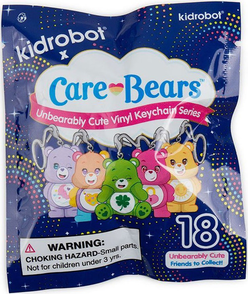 Vinyl Keychains Care Bears Series 2 3-Inch Mystery Pack [1 RANDOM Figure!]
