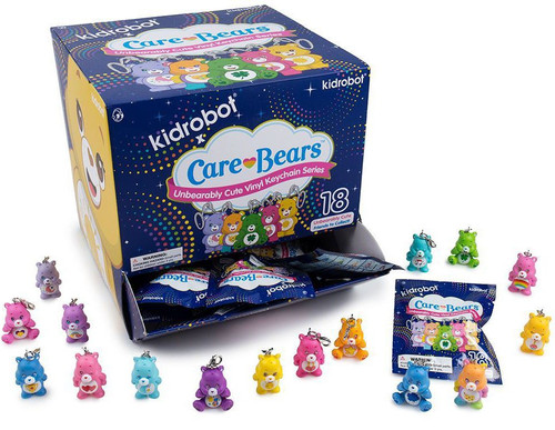 Vinyl Keychains Care Bears Series 2 3-Inch Mystery Box [24 Packs]