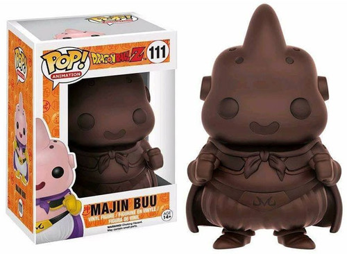 Funko Dragon Ball Z POP! Animation Majin Buu Exclusive Vinyl Figure #111 [Chocolate Version]