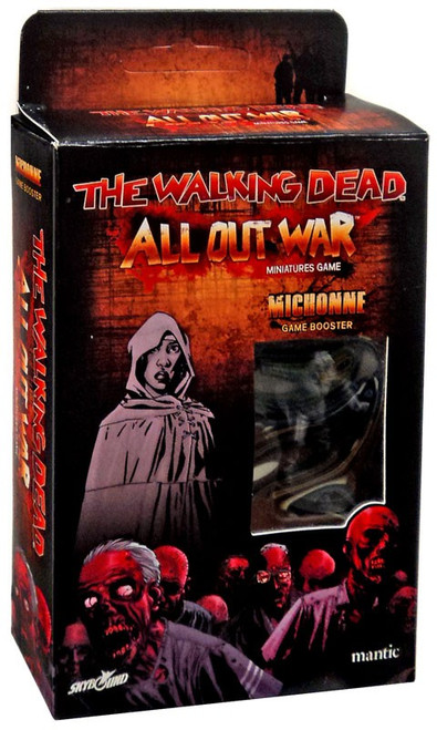 The Walking Dead Walking Dead All Out War Miniature Game Michonne Game Booster