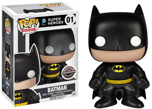 Funko DC Universe POP! Heroes Batman Exclusive Vinyl Figure #01 [Black Suit]
