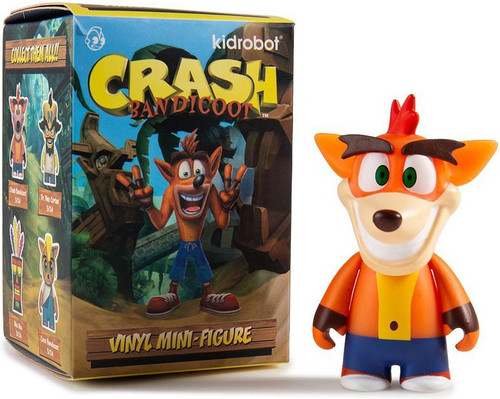 Playstation Vinyl Mini Figure Crash Bandicoot 3-Inch Mystery Pack [1 RANDOM Figure!]