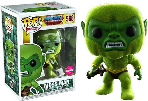 Funko Masters of the Universe POP! TV Moss Man Exclusive Vinyl Figure #568 [Flocked]