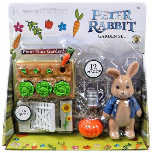 Peter Rabbit Garden Set Figure Set