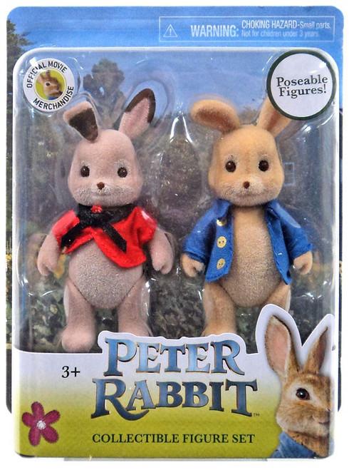 Peter Rabbit & Flopsy Figure Set