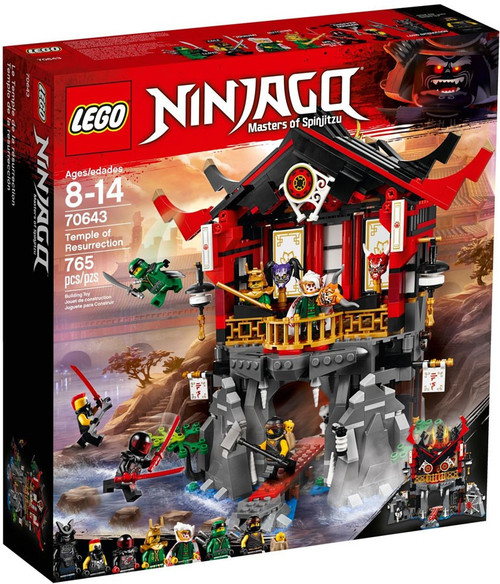 LEGO Ninjago Temple of Resurrection Set #70643