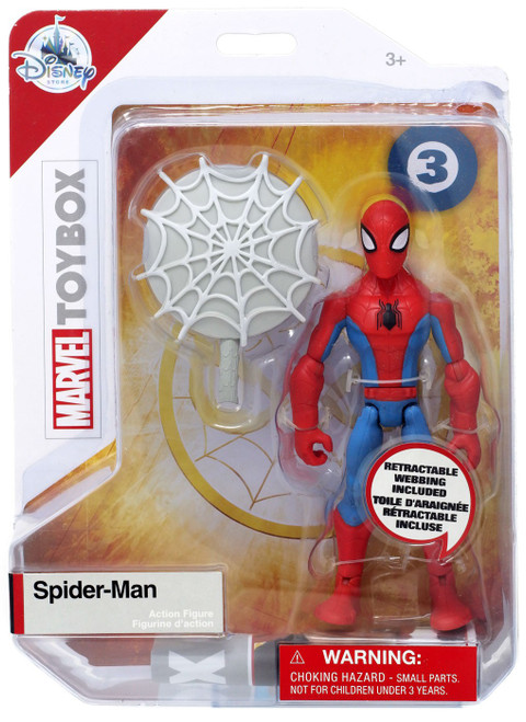 Disney Marvel Toybox Spider-Man Exclusive Action Figure [Red & Blue]