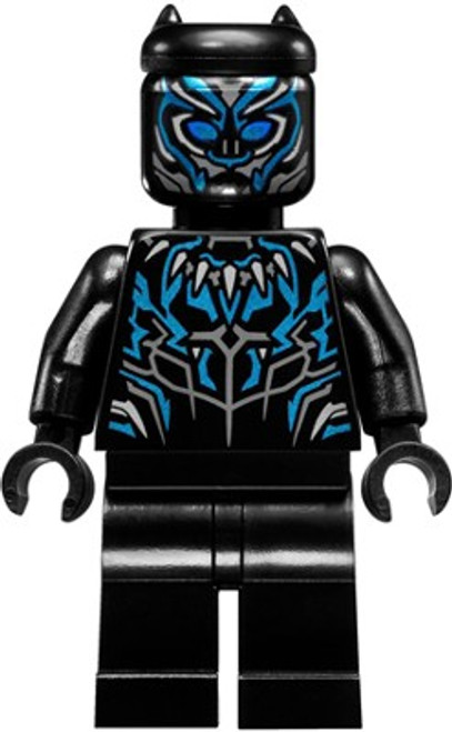 LEGO Marvel Black Panther Movie Black Panther Minifigure [Loose]