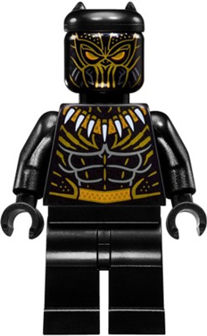 LEGO Marvel Black Panther Movie Killmonger Minifigure [Loose]