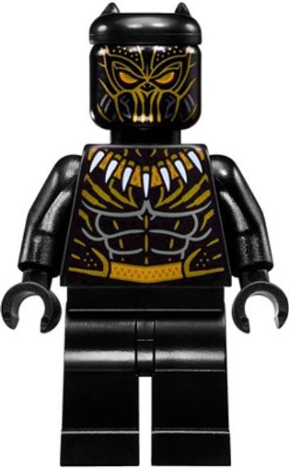 LEGO Marvel Black Panther Movie Killmonger Minifigure [Loose]