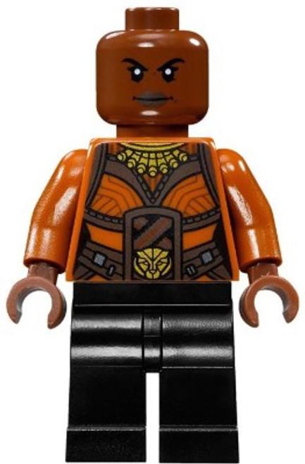 LEGO Marvel Black Panther Movie Okoye Minifigure [Loose]