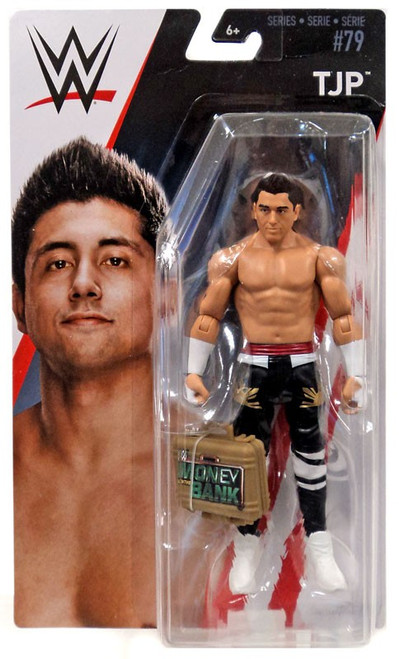 WWE Wrestling Series 79 TJ Perkins Action Figure [Money in the Bank Briefcase]