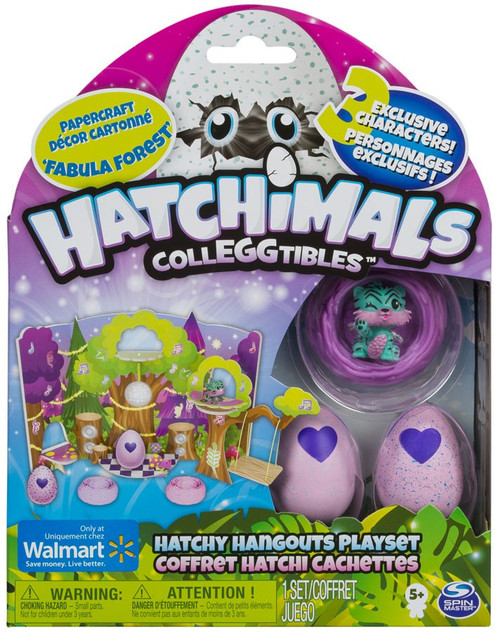 Hatchimals Colleggtibles Fabula Forest Hatchy Hangouts Exclusive Playset