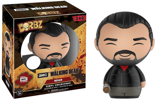 Funko The Walking Dead AMC TV Dorbz Negan Exclusive Vinyl Figure #340