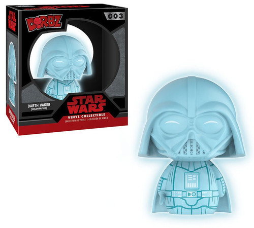 Funko Star Wars Dorbz Darth Vader Vinyl Figure #003 [Holographic, Glows-in-the-Dark]