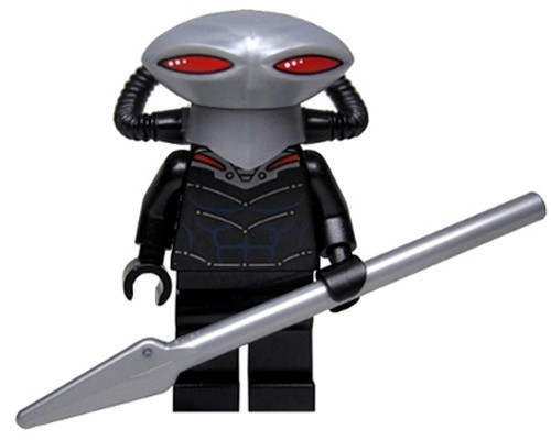 LEGO DC Universe Super Heroes Black Manta Minifigure [Loose]