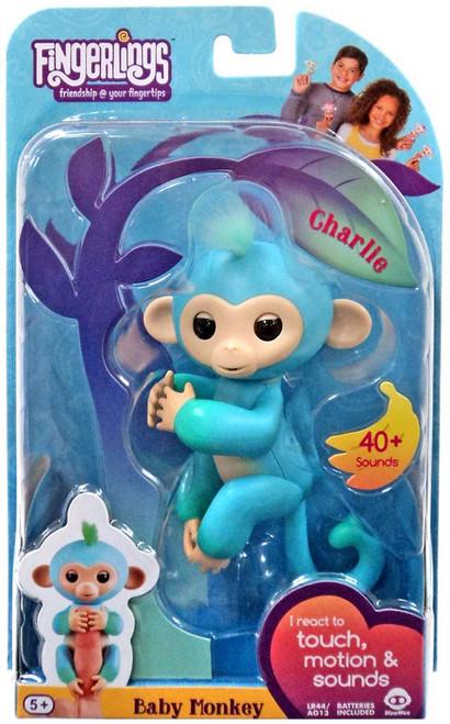Fingerlings Baby Monkey Charlie Figure